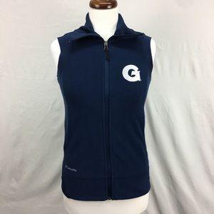 Columbia Jackets & Coats - Columbia Navy Georgetown Fleece Vest